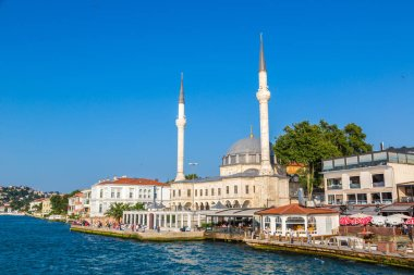 ISTANBUL, TURKEY - JULY 26, 2017: Istanbul view, Turkey in a beautiful summer day