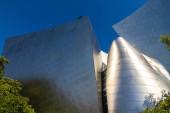 LOS ANGELES, USA - MARCH 29, 2020: Walt Disney Concert Hall in Los Angeles, California, USA