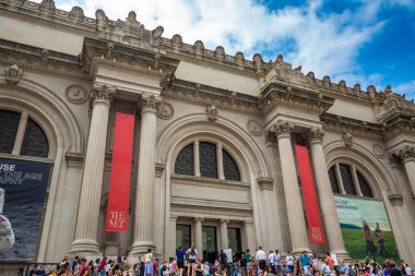 NEW YORK CITY, USA - MARCH 15, 2020: The Metropolitan Museum of Art in New York City, NY, USA