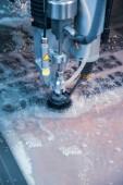 Fotografie Vodním paprskem CNC řezací stroj moderní průmyslové technologie