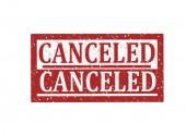 Fényképek Rubber stamp Canceled