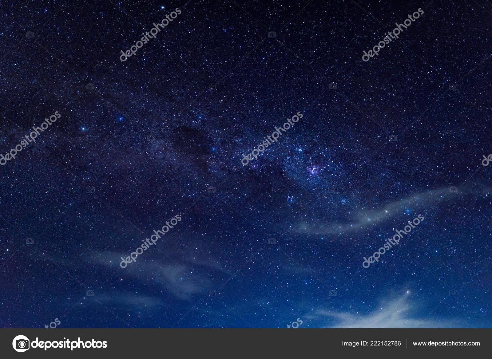 Photo Starry Night Wallpaper Starry Sky Many Stars Night