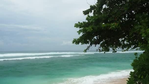 View of the amazing wild beach