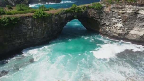 Beautiful Broken Beach in Nusa Penida Island