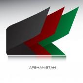 Kombinace barev vlajky státu Afghánistán