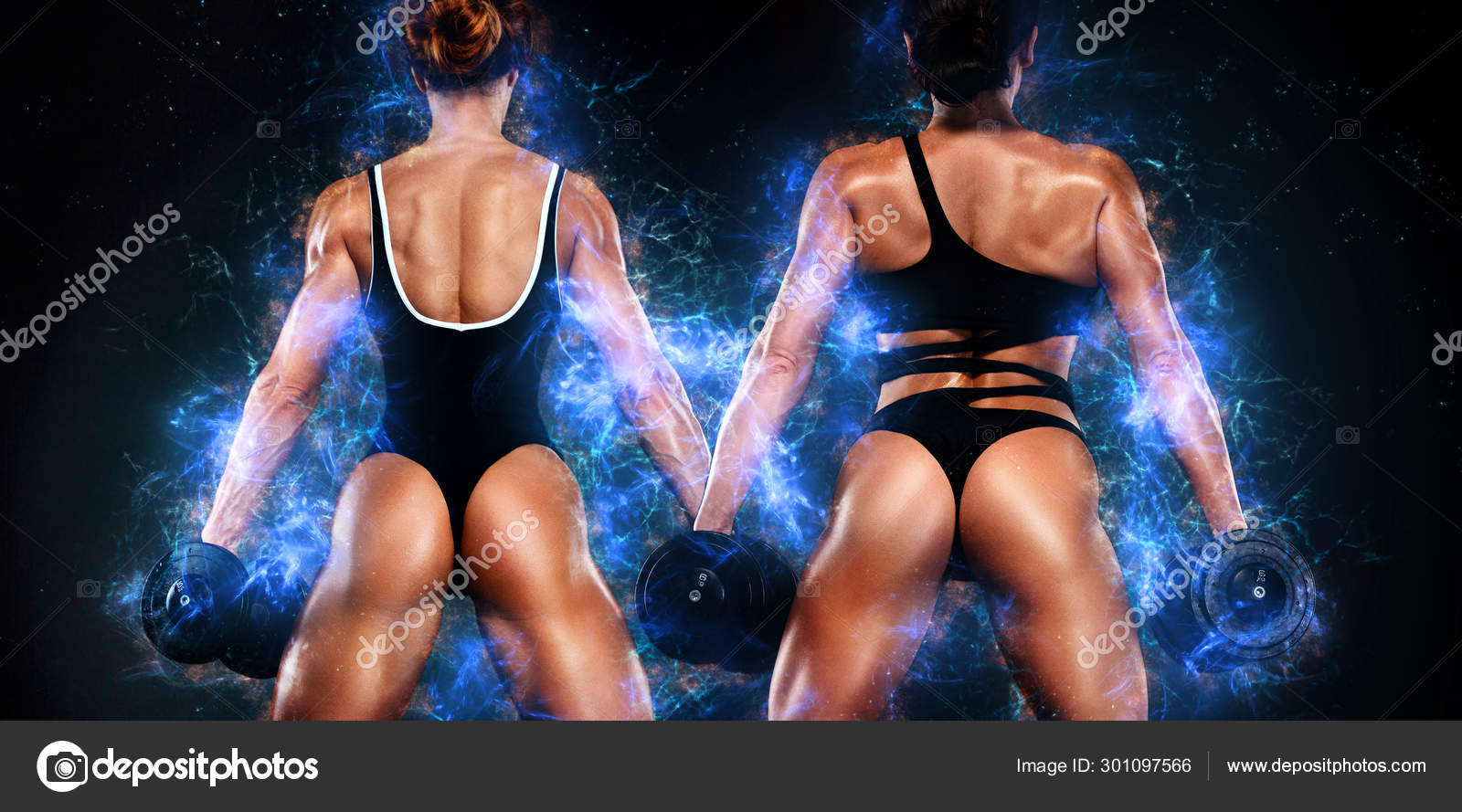 Two Sporty And Fit Women Athletes Bodybuilders Workout And Fitness Motivation Black Background Energy Bodybuilding Concept Sexy Ass In Thong Stock Photo C Mikeorlov 301097566 Healthy food for women who want to get fit. two sporty and fit women athletes bodybuilders workout and fitness motivation black background energy bodybuilding concept sexy ass in thong stock photo c mikeorlov 301097566