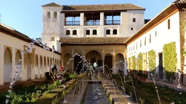 Fountain in Generalife gardens