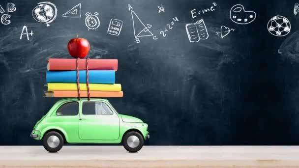 Zpět na animaci školního vozu