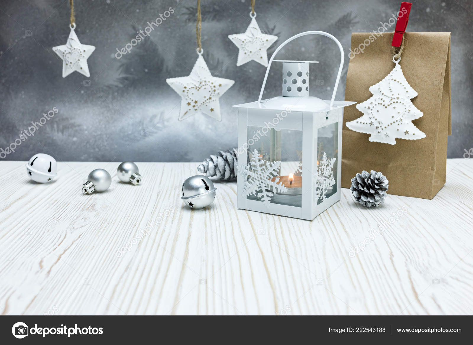 Christmas Tree Decorations Handmade Paper Present Bag