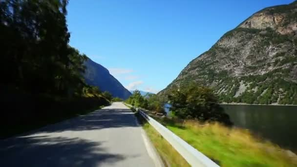 Road travel in Norway.