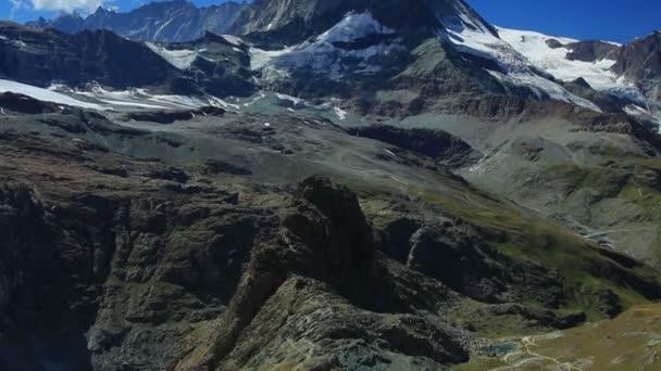 Matterhorn mountain in summer.
