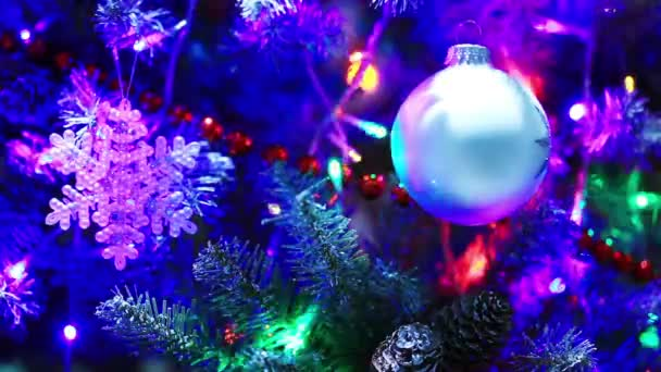 Silvestrovské dekorace s osvětlením