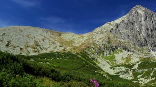 Tatry v Slovensku panoramatický pohled