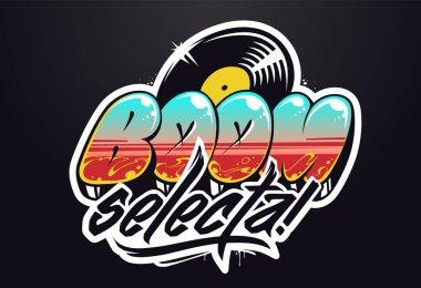 Vector Graffiti Musical Logo