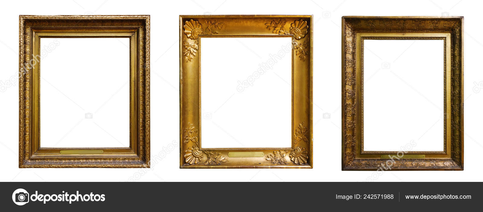 5bc205585b9d Set Of Three White Picture Frames - Best Photos Of Frame Truimage.Org