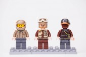 RUSSIA, May 16, 2018. Constructor Lego Star Wars. Various mini-figures from different episodes of the saga