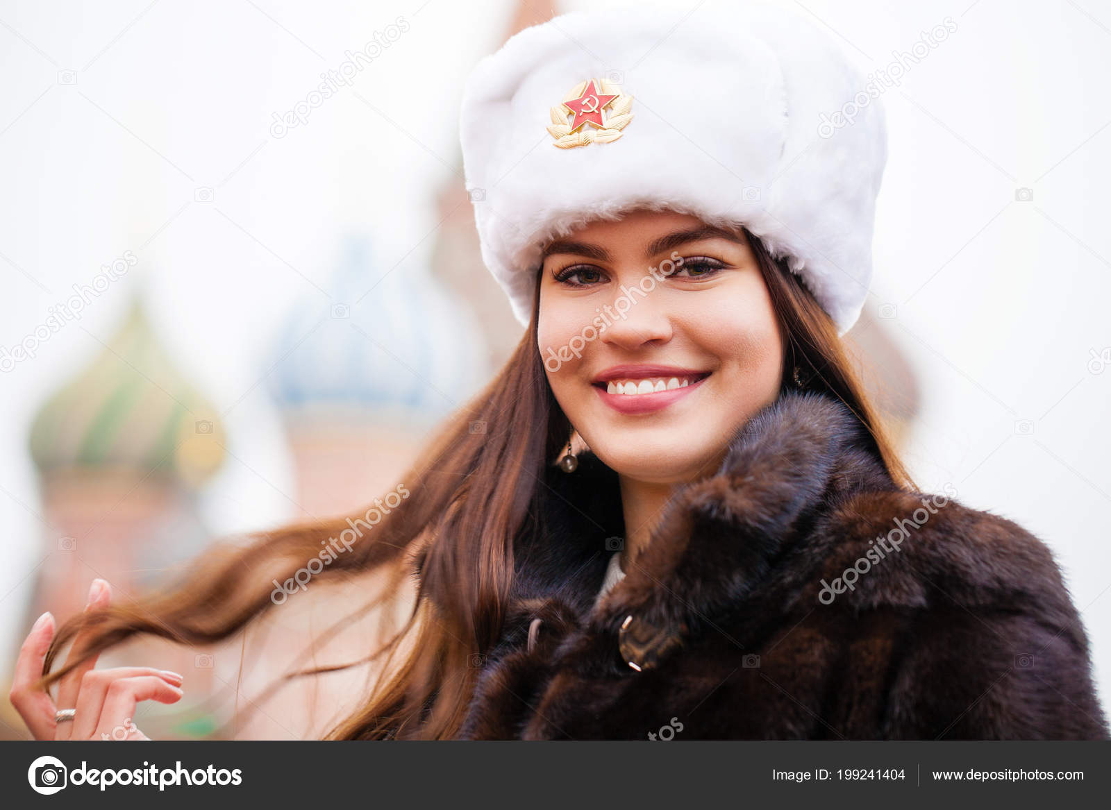 Pictures Beautiful Russia Russian Beauty Portrait Young