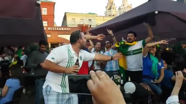 People in national soccer team wear