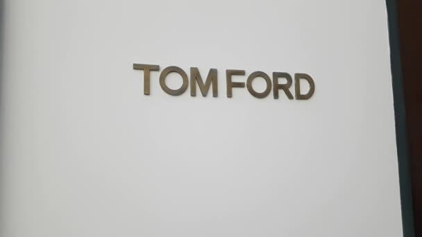 Tom Ford Store Sign