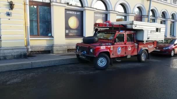 Trophy raids car