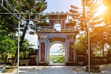Da Nang city, Buddhist Temple Gates Hoi An, Vietnam, Asia