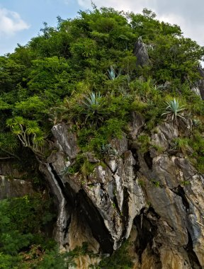 Da Nang Must-see top of Marble Mountains Danang city in Vietnam. Hoi An, Vietnam, Asia