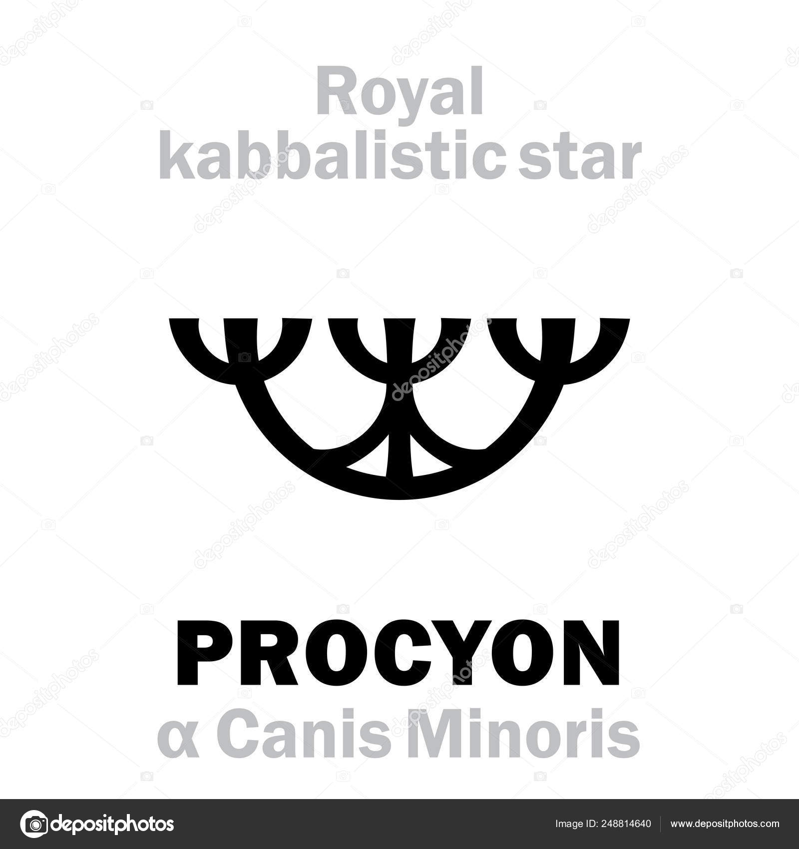 Astrology: PROCYON (The Royal Behenian kabbalistic star