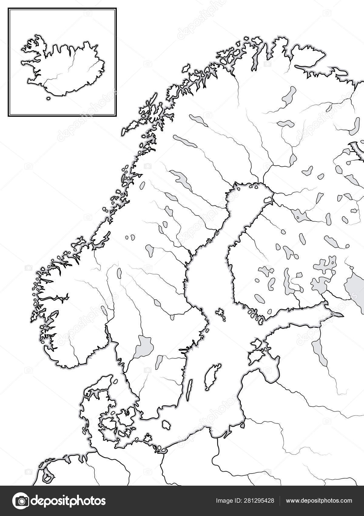 Map of The SCANDINAVIAN Lands: Scandinavia, Sweden, Norway, Finland In Ad Map Of Scandinavia on map of sweden, map of holland, map of norway, map of ireland, map of benelux, map of british isles, map of iceland, map of england, map of canada, map of austria, map of australia, map of germany, map of georgia, map of africa, map of pakistan, map of the pyrenees, map of denmark, map of netherlands,