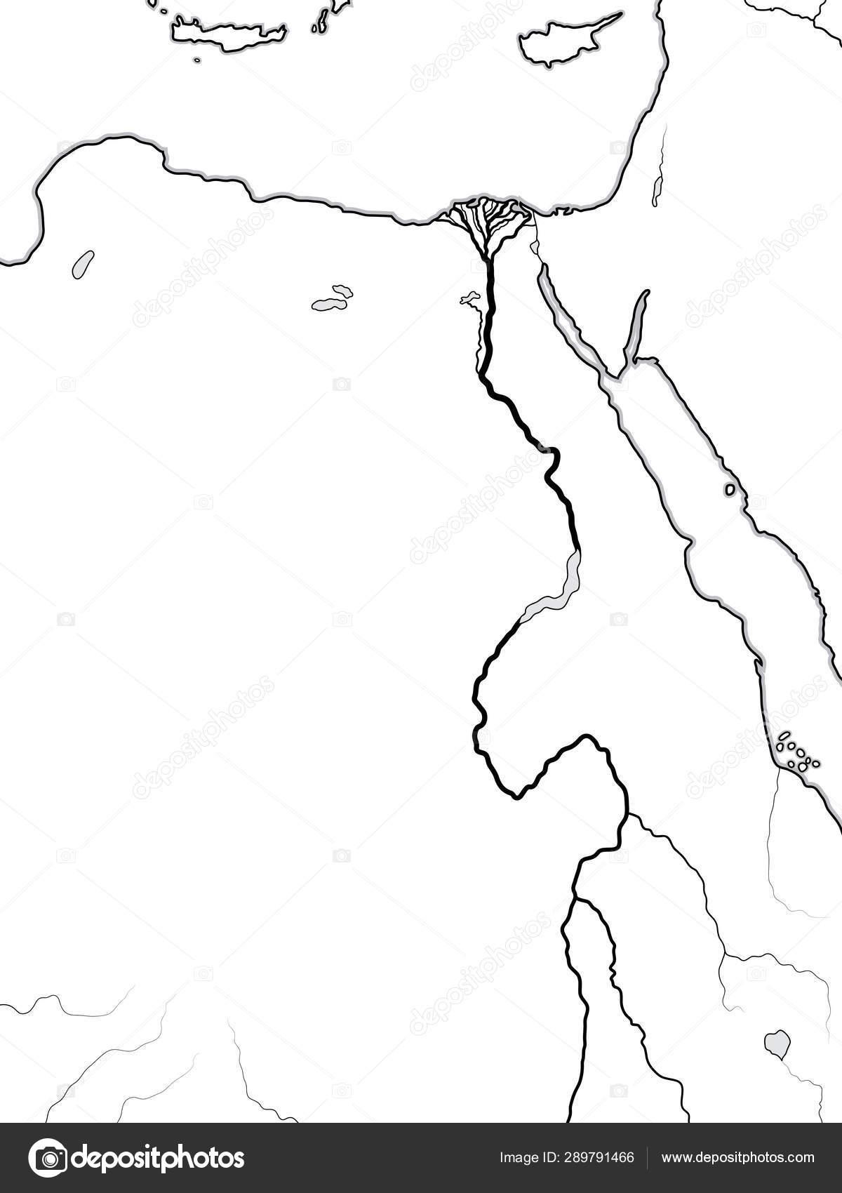 Mapa Del Antiguo Egipto Blanco Y Negro.Mapa Mundial De Egipto Nubia Libia Africa El Antiguo