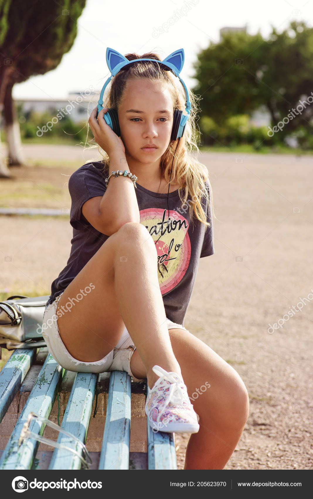 Cute Teen Girl In The Summer Time Photo By Reanas