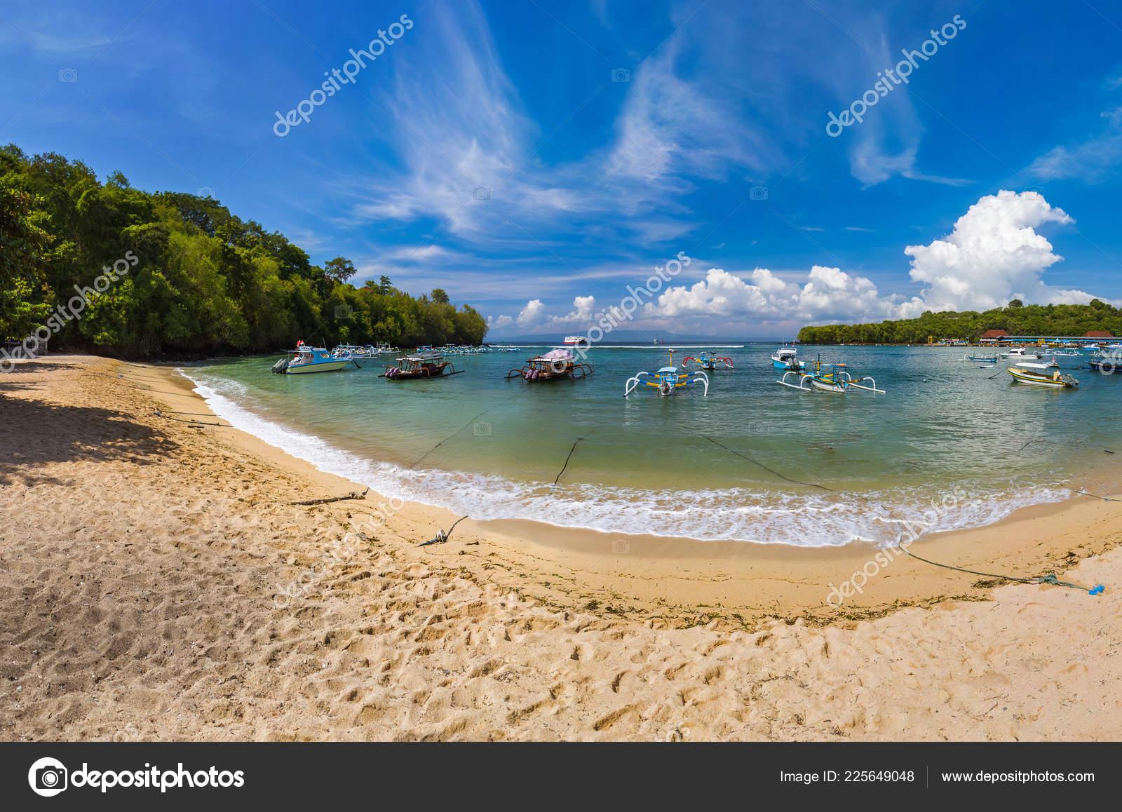 Padangbai Beach Bali Island Indonesia Nature Travel Background