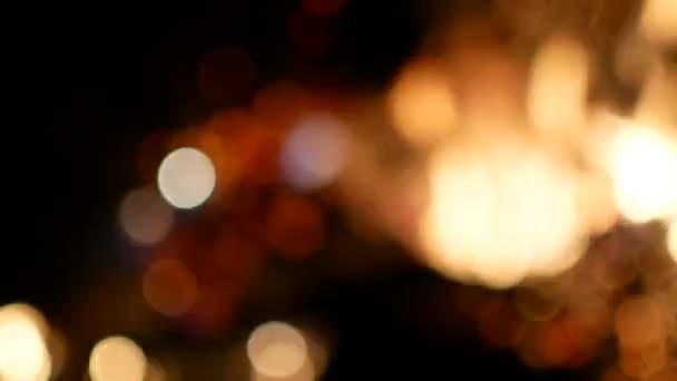 Csillagszórók. Szikra. Bengáli tűz fények. Bokeh. Háttér. Karácsonyi. Új év.