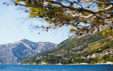 The Mediterranean Sea in Croatia. Nature, travel