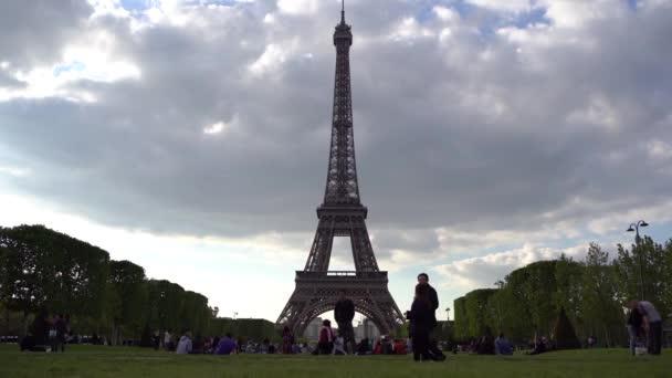 Bella vista di Parigi, Francia. La Torre Eiffel