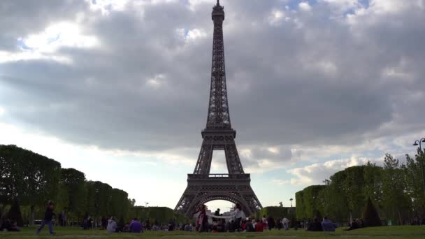 Beautiful view of Paris, France. The Eiffel Tower