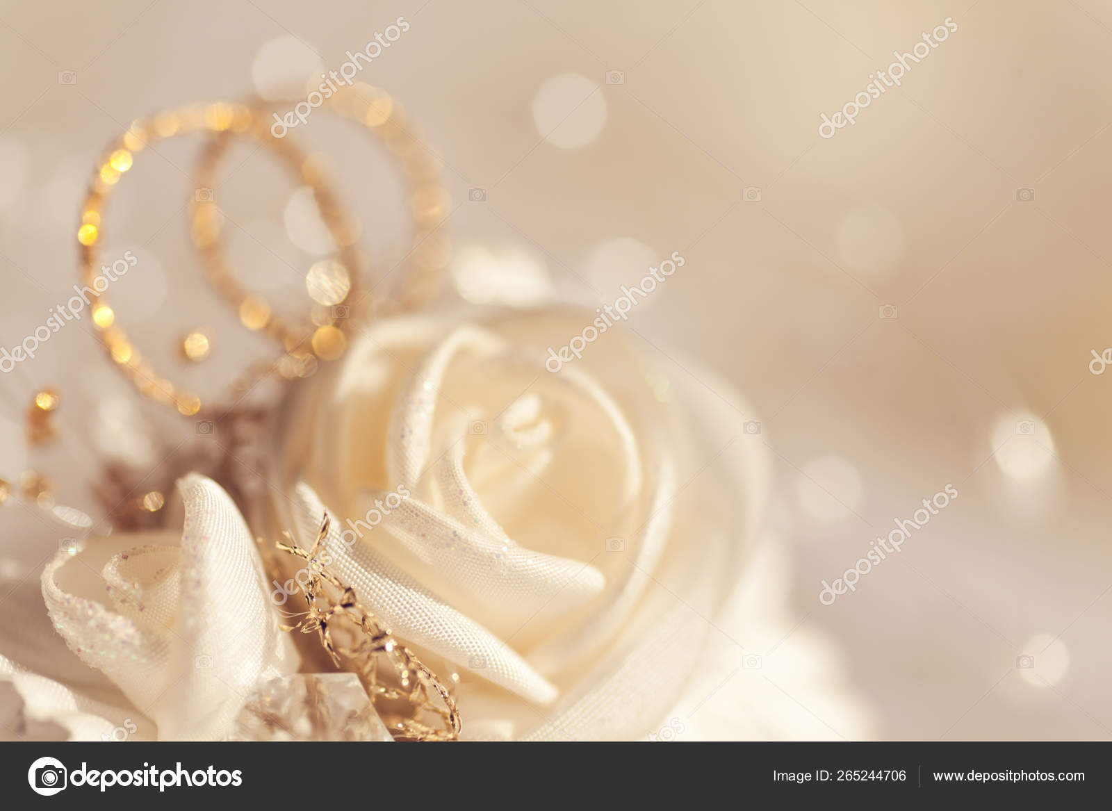 Abstract Wedding Background Laces Roses — Stock Photo