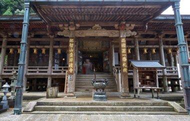 Nachisan Seiganto-ji temple main hall. Wakayama Prefecture. Japa