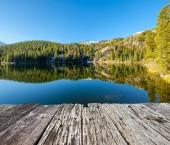 Fotografie Medvědí jezero, Rocky Mountains, Colorado, USA.