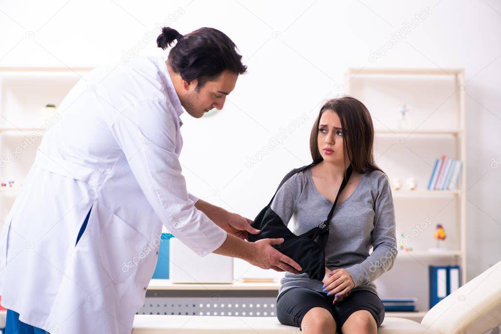 Молодой врач трахнул молодую пациентку