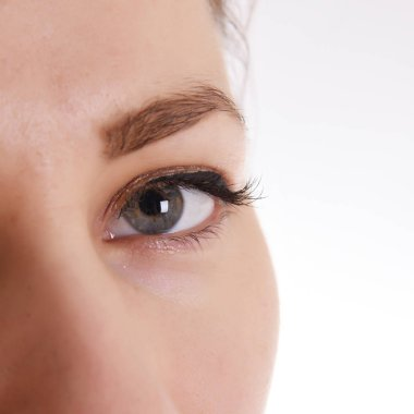 Woman eye with make-up