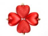 Fotografia decorazione di Natale a forma di cuore
