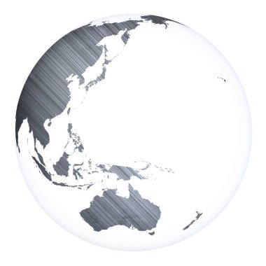 World concept planet Earth. Elements of this image furnished by NASA. 3D rendering