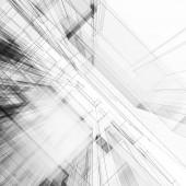 Abstraktní architektura 3d vykreslování