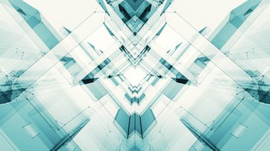 Abstract background futuristic concept space technology