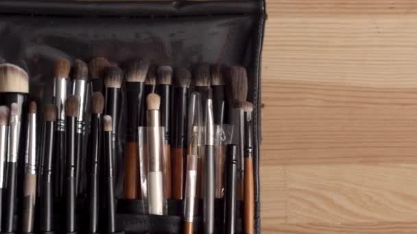 Kosmetické štětce sada pro profesionální vizážistka