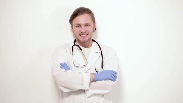 Portrait of vet in clinic