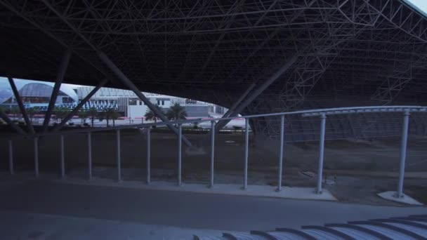 Formula Rossa in Ferrari World Abu Dhabi stock footage video