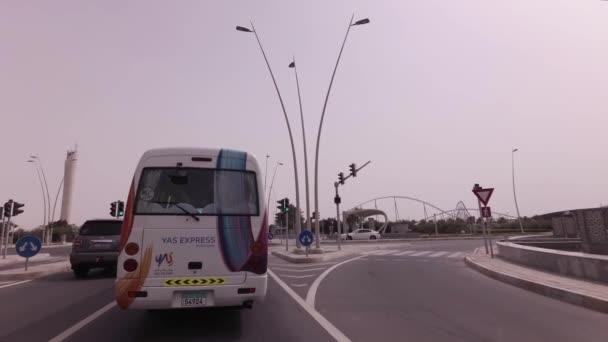 Auto výlet na ostrov Yas světa Ferrari v Abú Dhabí stopáže videa