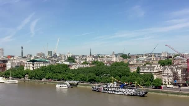 London city skyline with river Thames, Great Britain
