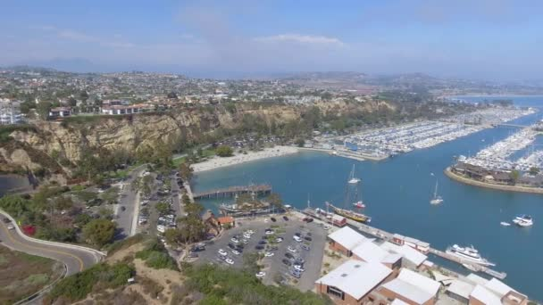 Amazing panoramic aerial view of Dana Point, California, USA